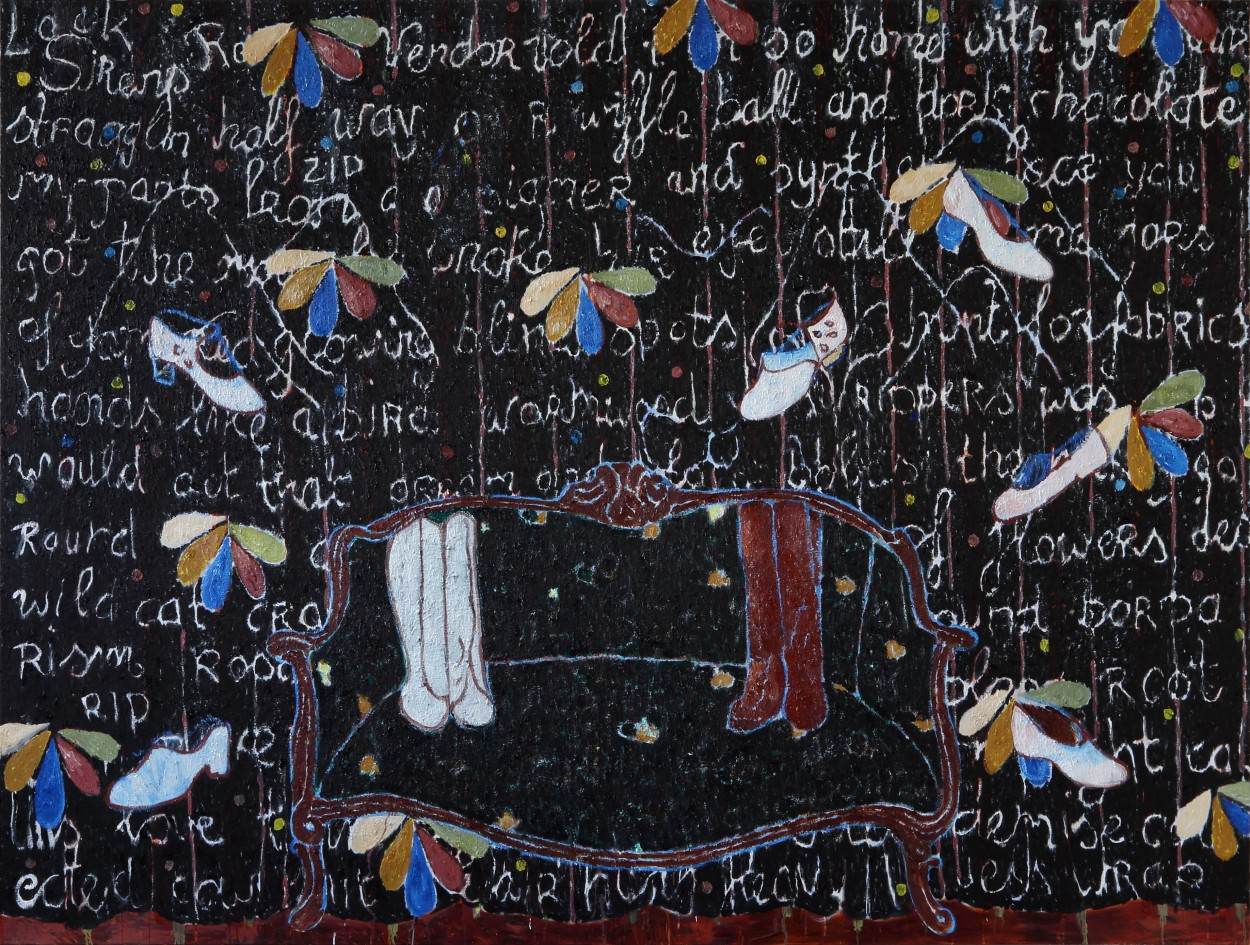Black painting site
