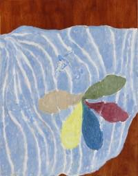 Keetje_Mans Blue painting