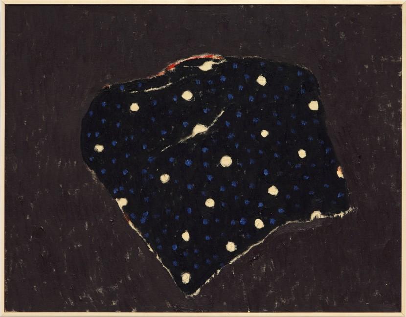 1.Black dots oilpaint on panel 20x30cm