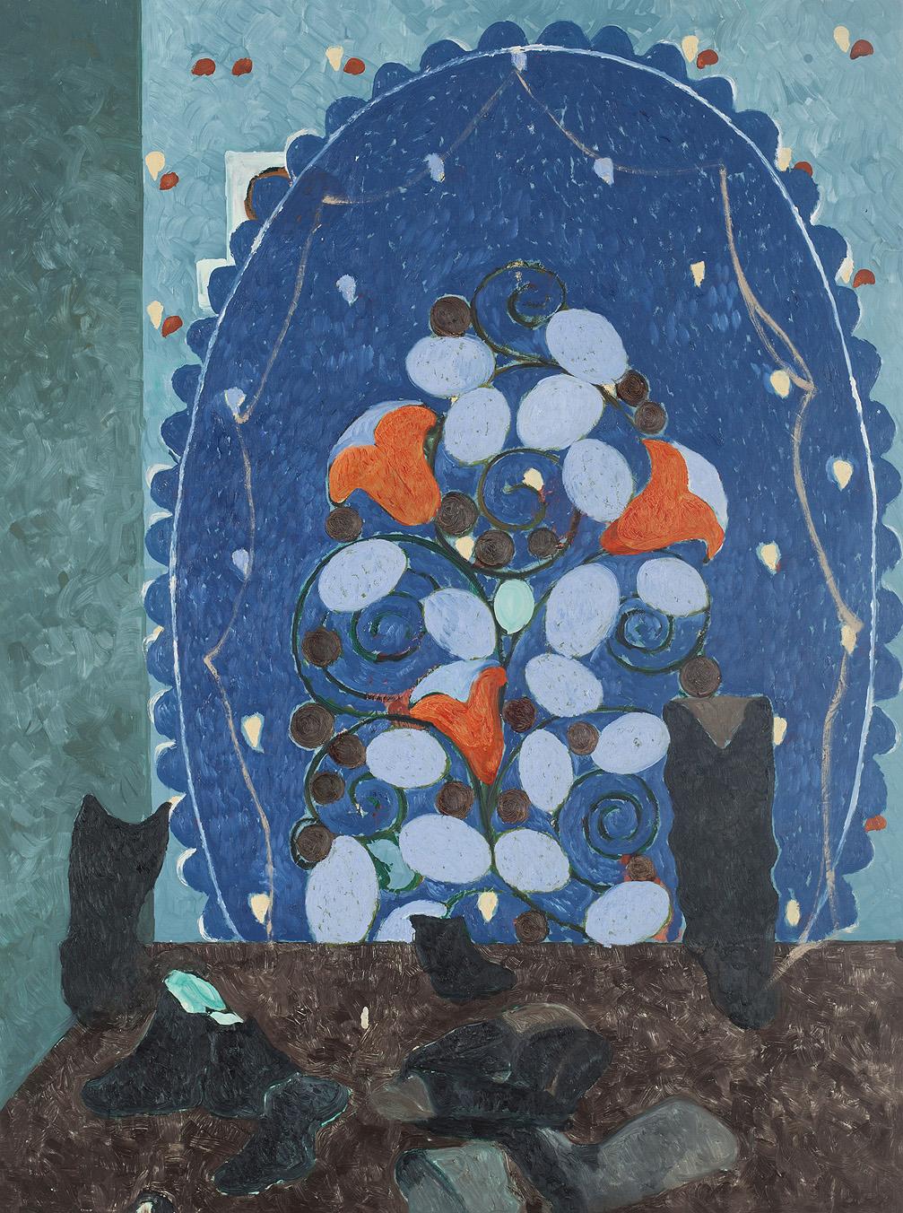 Keetje-Mans-red-in-Blue-olieverf-op-linnen-75x110-cm.jpg
